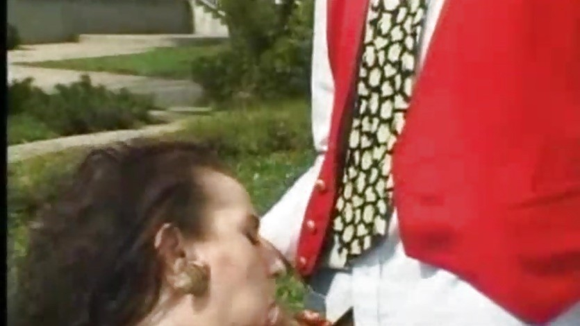 Great anal sex outdoors